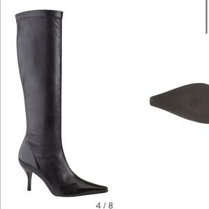 Cole Haan Lydia Dark Chocolate Tall Boots